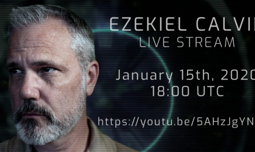 Upcoming Ezekiel Calvin Live Stream