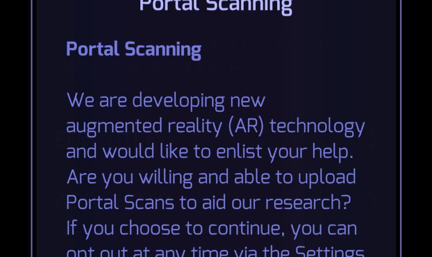 Portal Scanning Live